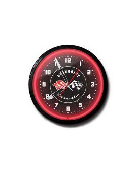 1953-1955 Corvette 20in Neon Clock