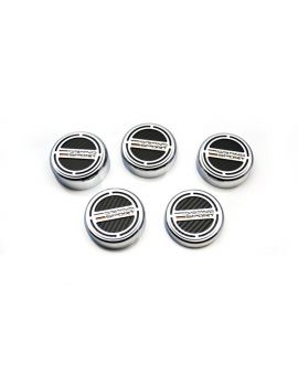 17-19 Auto Grand Sport Carbon Fiber Engine Cap Covers (5pc)