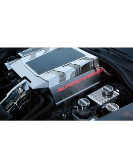 15-19 Z06 SUPERCHARGED Fuel Rail Cover (Illuminated)