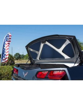 2014-2019 Corvette Conv Stainless Trunk Lid Trim Kit