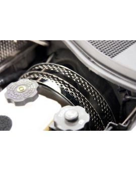 14-19 Perforated Stainless 3pc Brake Booster Covers