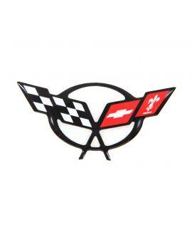 97-04 Steering Wheel Domed Emblem