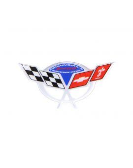 04 Commemorative Steering Wheel Domed Emblem