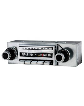 59-60 Wonderbar AM/FM Stereo Bluetooth Radio