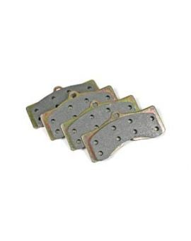 1965-1982 Corvette Semi-Metallic Brake Pads - Axle Set
