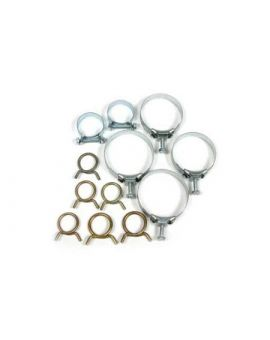 1966-1967 Corvette 427 w/AC Cooling System Hose Clamp Kit