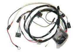 Anti-Theft Switch in Fender 1977 Early Corvette Power Window Wiring Harness