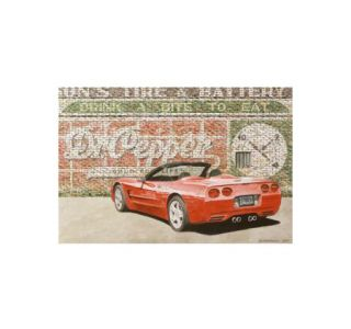 Corvette One Red Hot Pepper - Dana Forrester Print