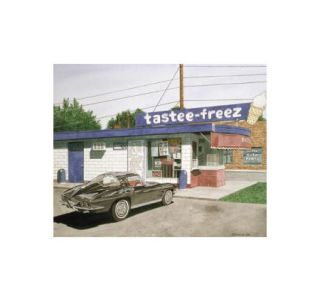 The Tastee Freez - Dana Forrester Print