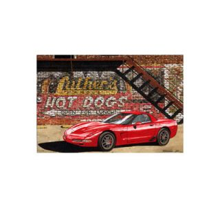 A Pair Of Hotdogs - Dana Forrester Print