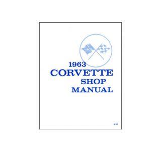 1963 Corvette Shop/Service Manual