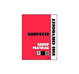 1981 Corvette Shop/Service Manual