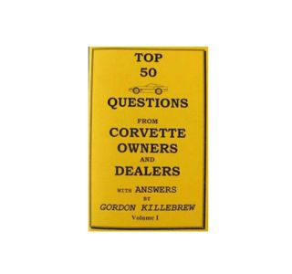 Volume I - 84-96 Corvette Top 50 Questions Book