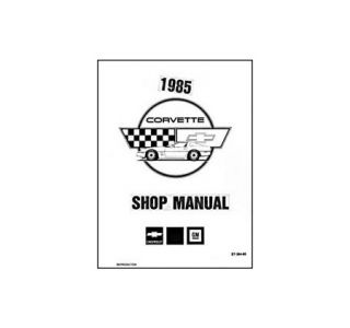 1985 Corvette Shop/Service Manual