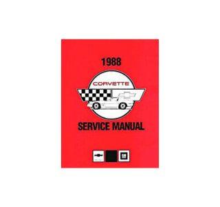 1988 Corvette Shop/Service Manual