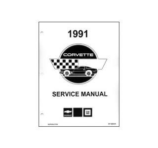 1991 Corvette Shop/Service Manual