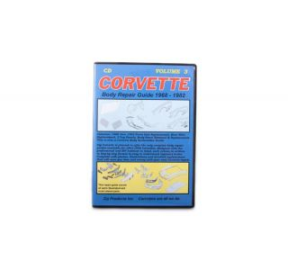 Vol 3: 68-82 Front to Cowl Body Repair Guide (CD)
