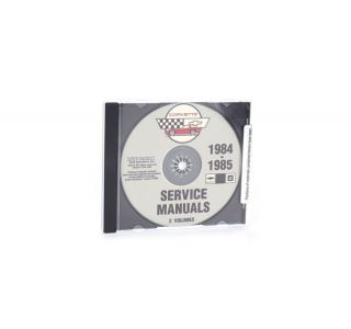 84-85 Shop/Service Manual on CD