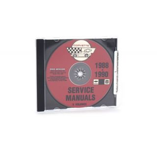 88-90 Shop/Service Manual on CD