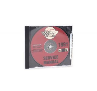 91 Shop/Service Manual on CD