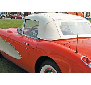 1956-1958 Corvette Convertible Top Assembly - Black