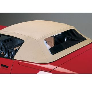 1994-1996 Corvette Convertible Top - Stayfast Cloth - Beige