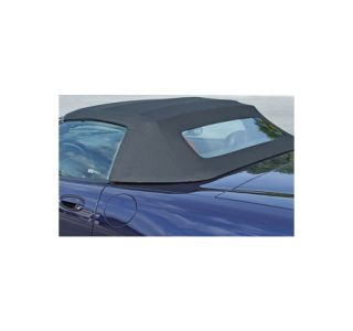 1998-2004 Corvette Convertible Top Twillfast II Cloth Top - Black