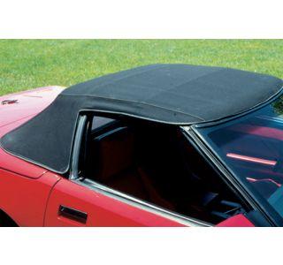 1986-1993 Corvette Convertible Top Vinyl - Black