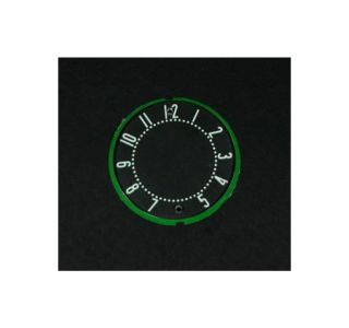 1958-1962 Corvette Clock Face w/Numbers