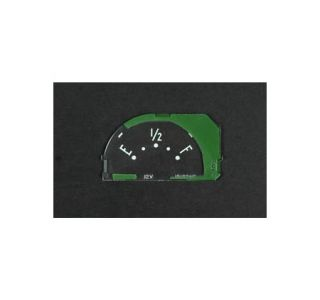 1953-1958 Corvette Fuel Gauge Face
