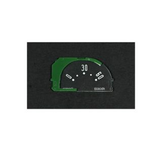 1953-1958 Corvette Oil Gauge Face