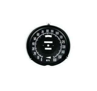 1968-1971 Corvette Speedometer Face Plate