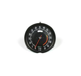 1972-1974 Corvette 5300rpm Tachometer Assembly