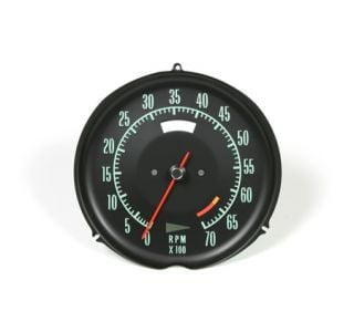 1968 Corvette 6500rpm Tachometer
