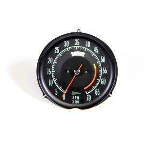 1969-1971 Corvette 5300rpm Tachometer