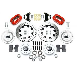 "53-62 Wilwood Front Dynalite Brake Kit w/Drilled/Slotted 12.19"" Rotor"