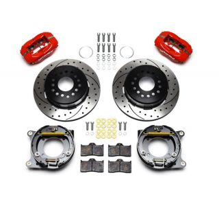 "56-62 Wilwood Rear Dynalite Brake Kit w/SRP 11"" Drilled & Slotted Rotor (BrakeColor)"