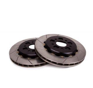 14-18 Z51 Rear 2pc Slotted Brake Rotors w Park Brake Provision