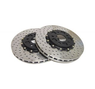 14-18 Z51 Front 2pc Drilled Brake Rotors