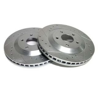 84-87 Power Stop Drilled & Slotted Rotors - Front (Default)
