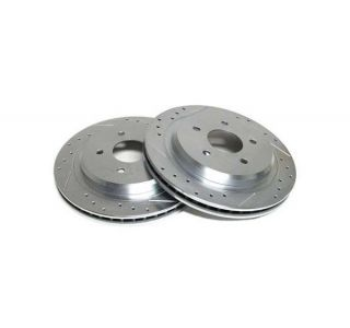 "88-96 13"" Power Stop Drilled & Slotted Rotors - Front"