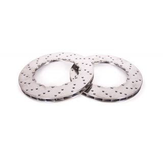 "06-13 ZO6/GS Rear 13"" 2pc Drilled Brake Rotor Replacement Ring"