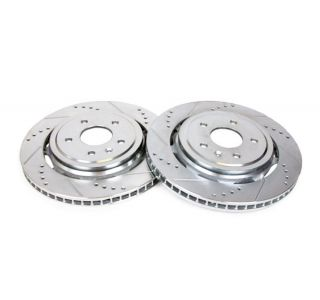 14-18 J55 (Z51) Power Stop Drilled & Slotted Rear Rotors (OE Design)