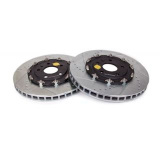 15-18 J56 (Z06) Power Stop Drilled & Slotted Front Rotors