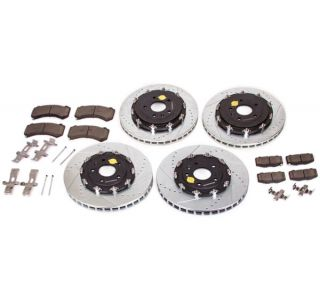 15-18 J56 (Z06) Power Stop Drilled & Slotted Rotors w/Z23 Brake Pads