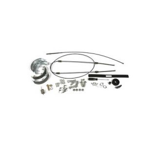 1967-1982 Corvette Park Brake Cable Kit w/Steel Cables