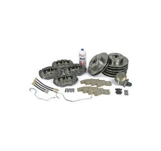 1965-1966 Corvette STD Brake Deluxe Overhaul Kit (Rebuilt Calipers w/Original Seal)