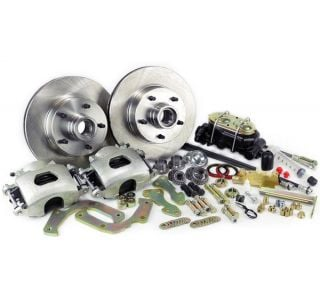 56-62 Disc Brake Conversion Kit w/Dual Master Cylinder