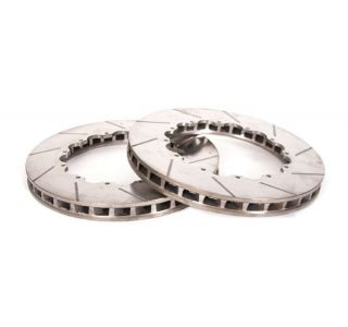 05-13 Z51 Front 14in 2pc Slotted Brake Rotor Replacement Rings