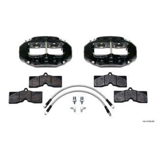 1965-1982 Corvette D8-4 Wilwood Aluminum Front Brake Kit (Black)